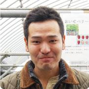 『とっくんのイチゴハウス』オーナー安田 俊彦(とっくん)